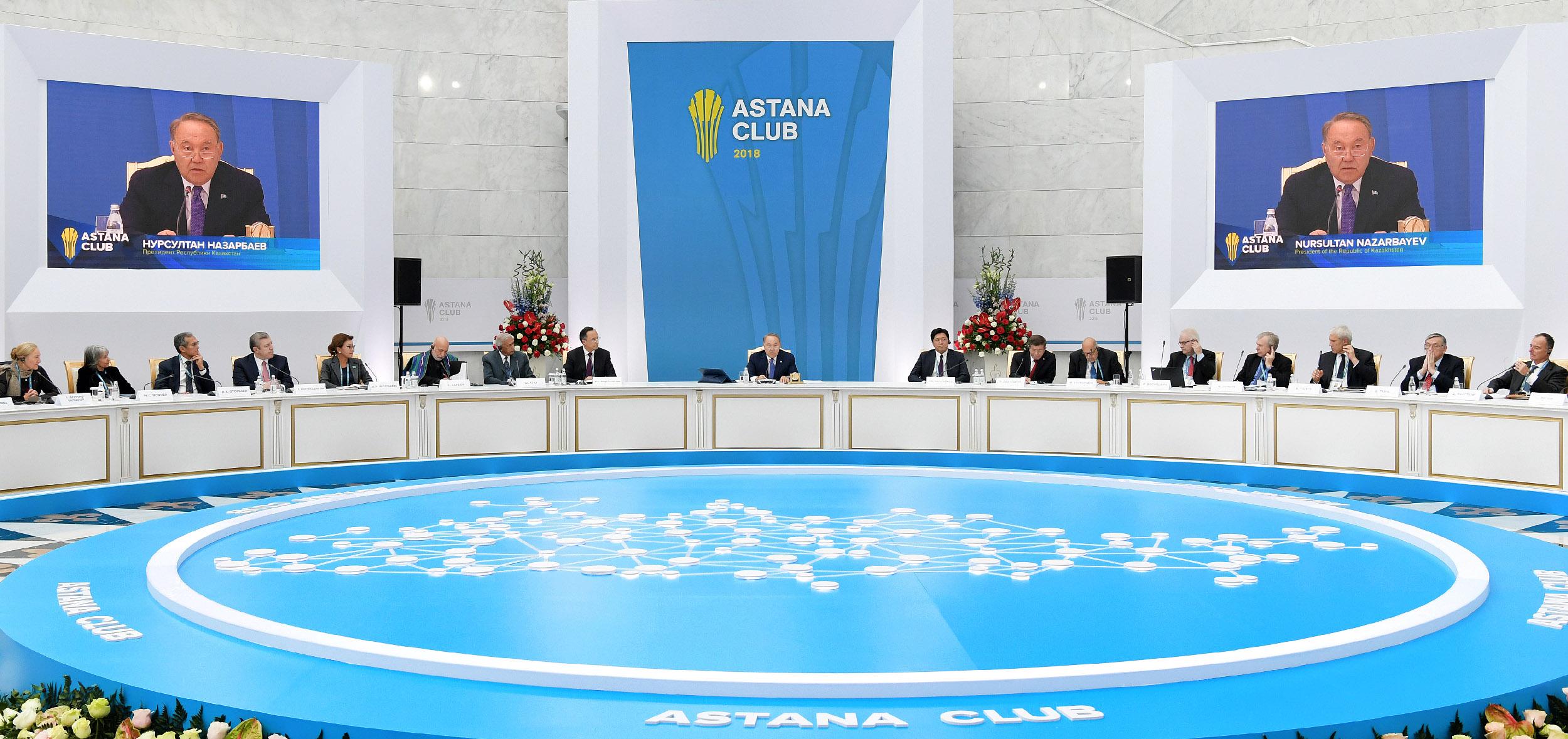 Назарбаев предложил обновить Хельсинкский заключительный акт 1975 года