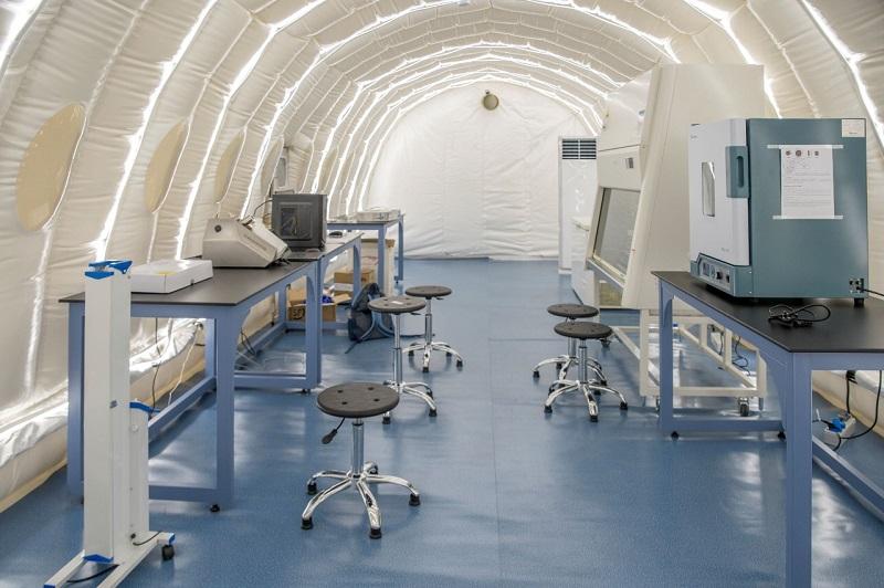 В Нур-Султане заработал первый автоматизированный лабораторный комплекс на COVID-19