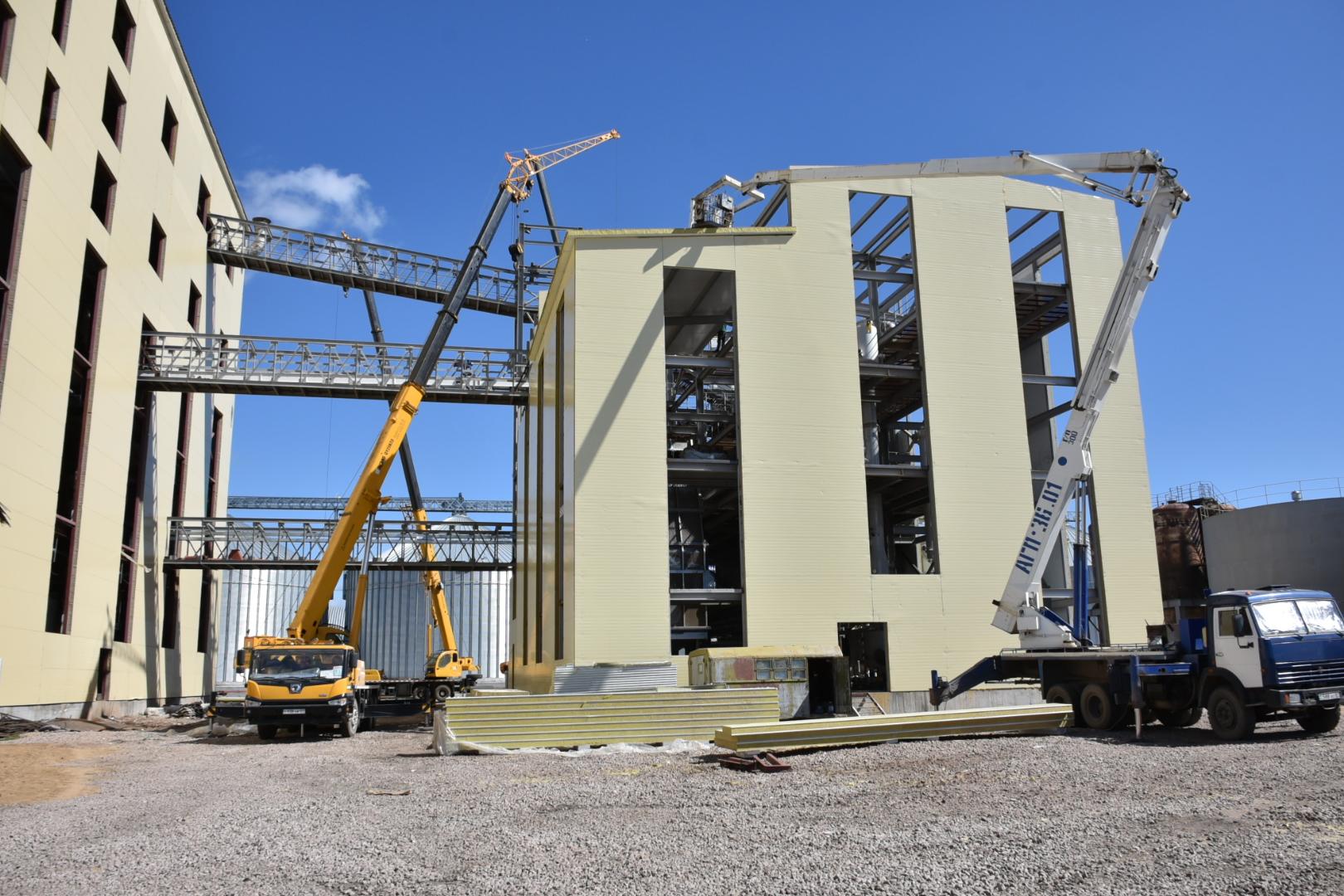 В Акмолинской области строится завод по производству растительного масла