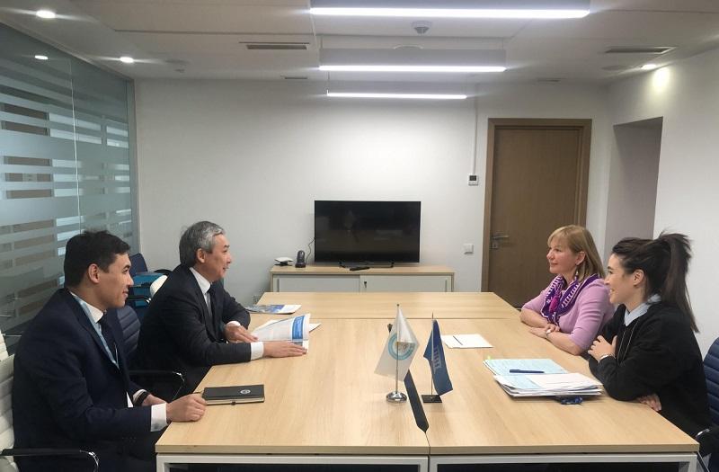 В Алматы состоялась встреча НОК РК и ЮНЕСКО