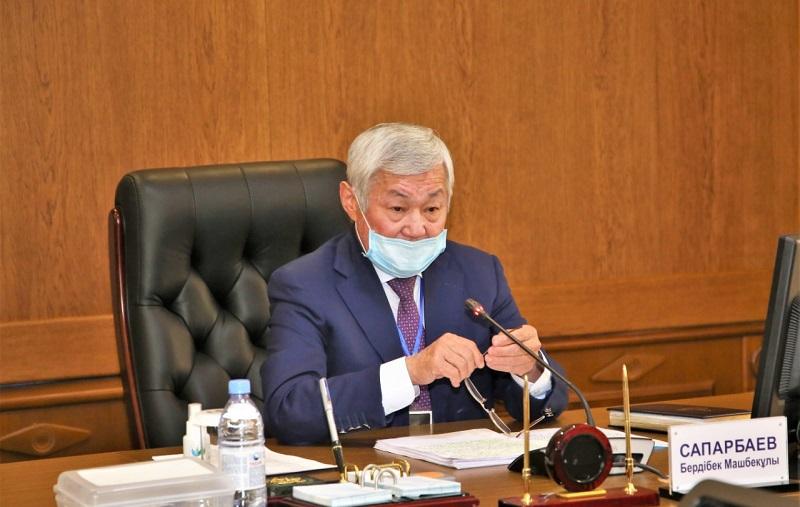 Бердибек Сапарбаев попросил жамбылцев придерживаться рекомендаций врачей