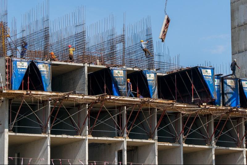 Объем строительных работ в Казахстане увеличился на 16%