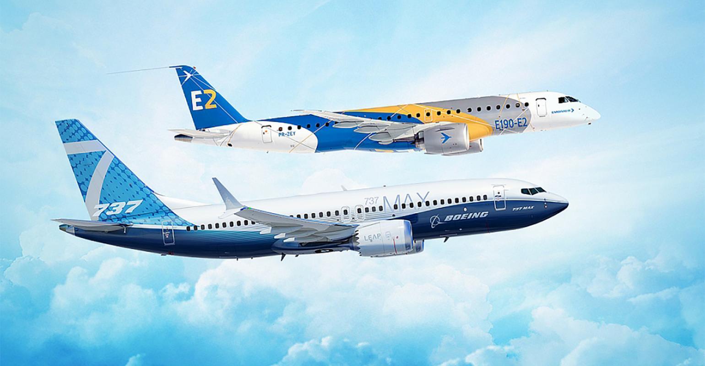 Еврокомиссия тщательно проверит готовящуюся сделку Boeing с бразильской Embraer