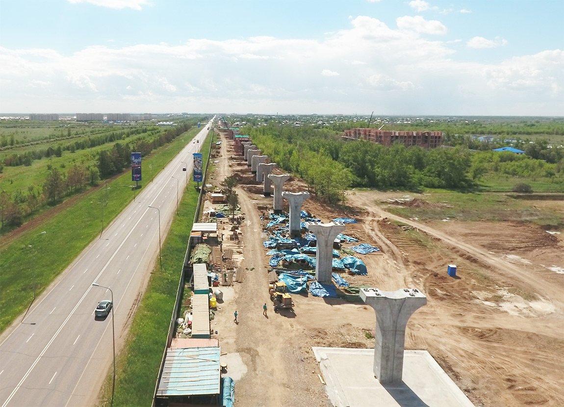 Касым-Жомарт Токаев поручил акиму столицы Казахстана изучить ситуацию вокруг строительства ЛРТ