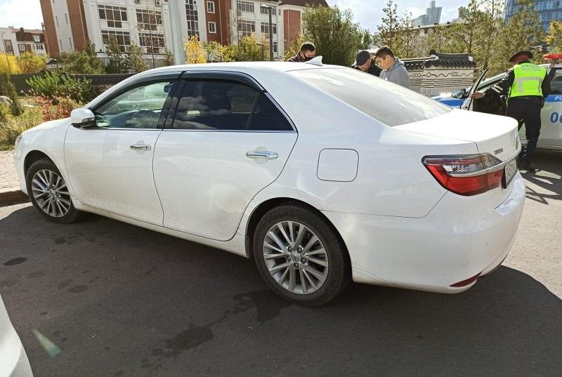 Судебные исполнители Нур-Султана изъяли автомобиль у должника по алиментам