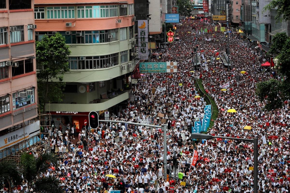 Полиция в Гонконге пресекла очередные акции протеста