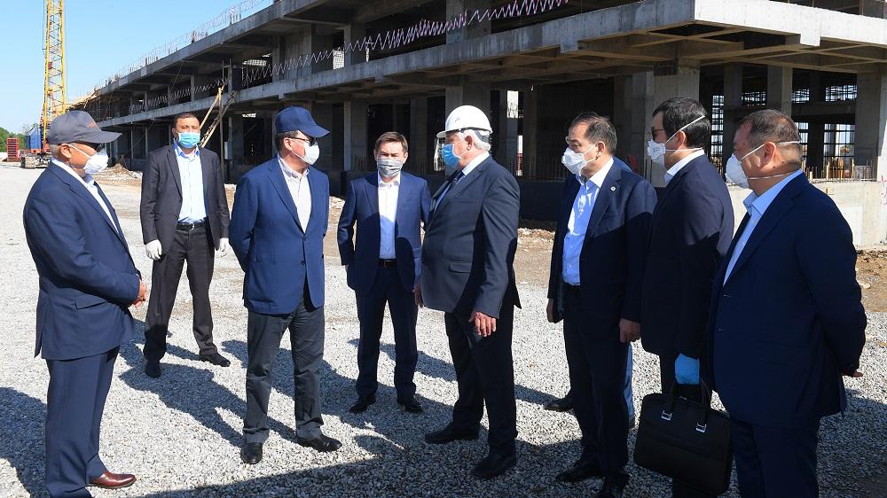 Строительство нового терминала в аэропорту Шымкента планируется завершить к декабрю