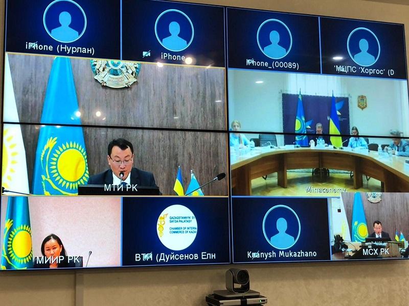 Казахстан и Украина обеспокоены снижением взаимного товарооборота