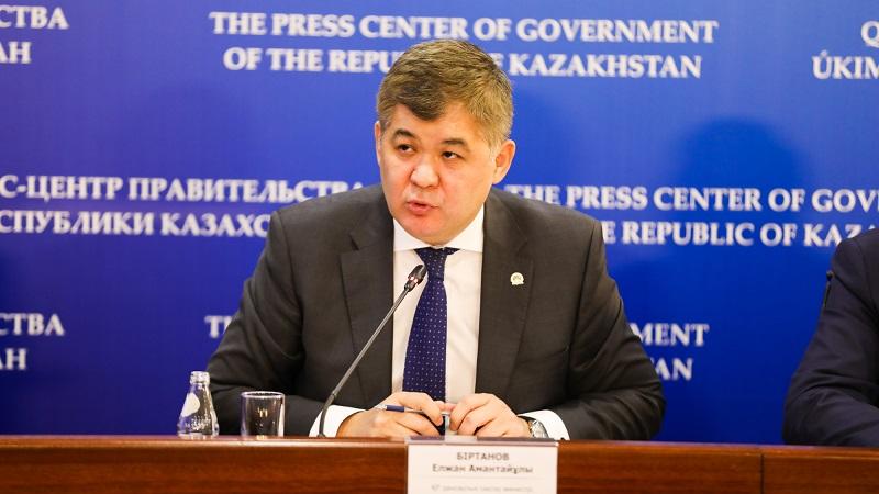 Елжан Биртанов освобожден от должности министра здравоохранения