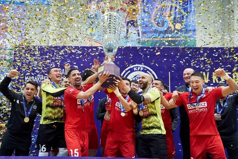 АФК «Кайрат» стал обладателем Кубка Казахстана по футзалу 2019