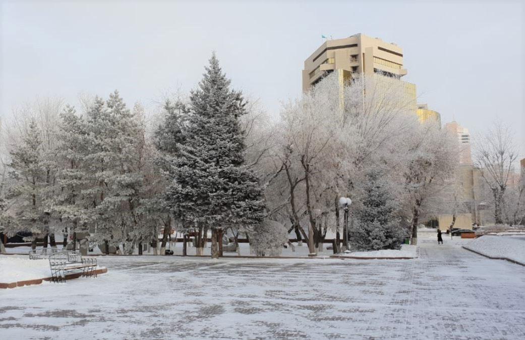 Демалыс күндері Астанада аяз күшейеді