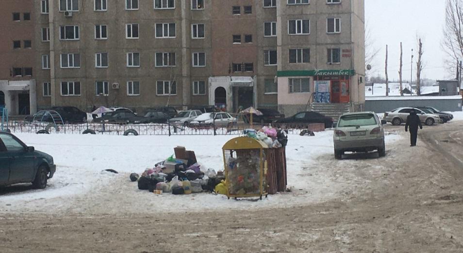 Мусор в Павлодаре вывезли через прокуратуру