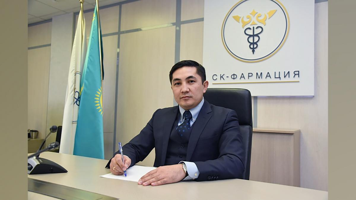Задержан экс-председатель правления «СК-Фармации» Берик Шарип