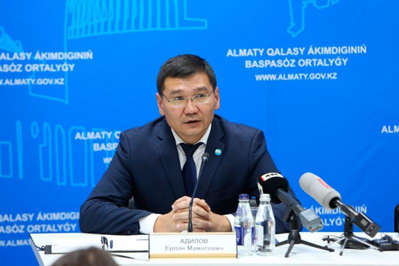 Ерлан Адилов назначен руководителем управления городской мобильности Алматы