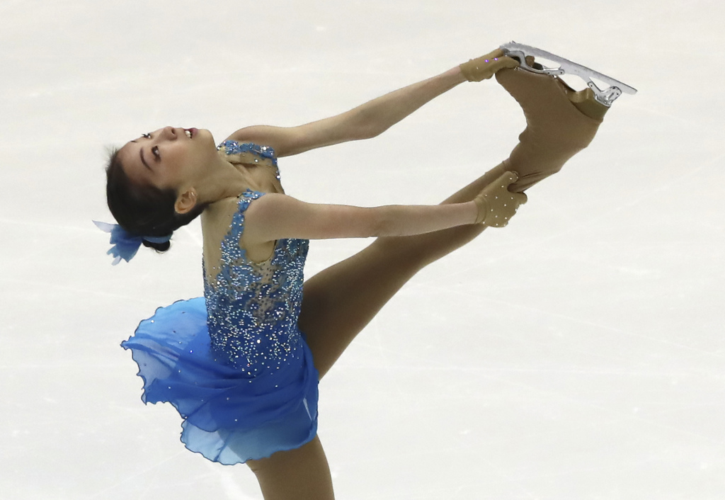 Турсынбаева стала пятой на гран-при Skate Canada-2018