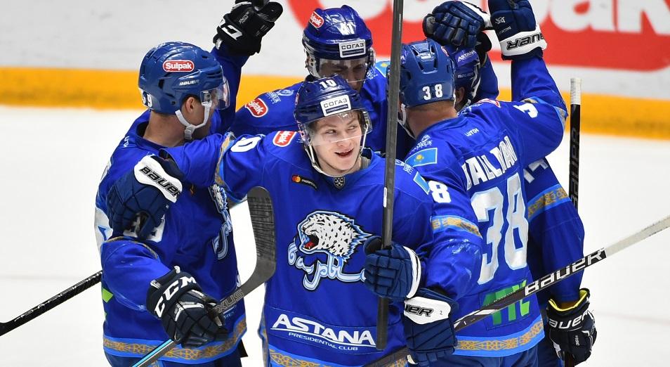 «Барыс» вошел в первую восьмерку сезона КХЛ