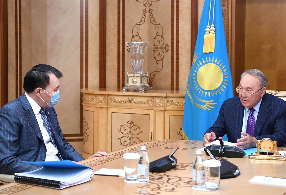 Нурсултан Назарбаев проинформирован о мерах по усилению борьбы с коррупцией
