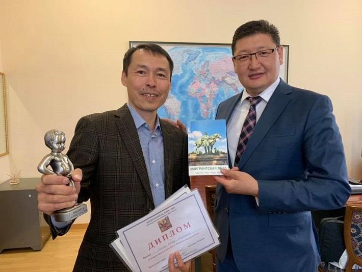 Поэт из Казахстана завоевал серебро на международном фестивале в Европе
