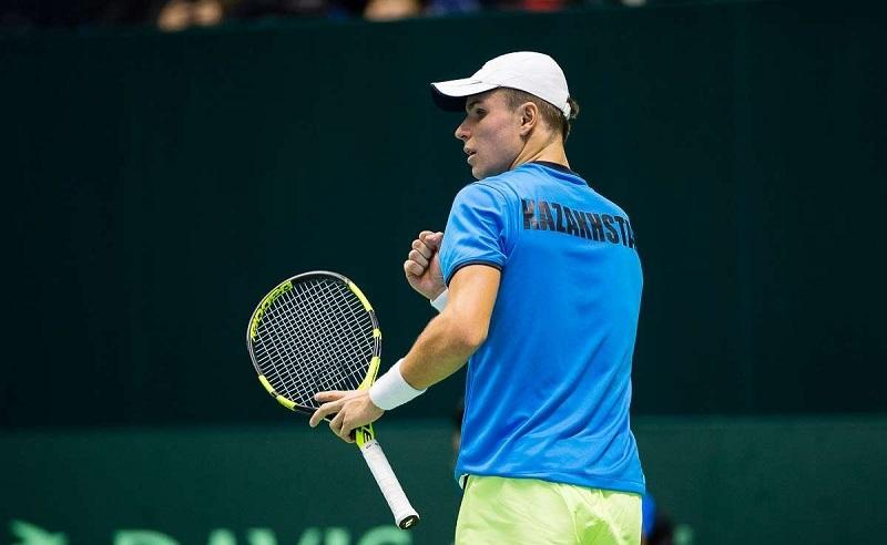 Казахстанец одержал очередную победу на теннисном выставочном турнире в США