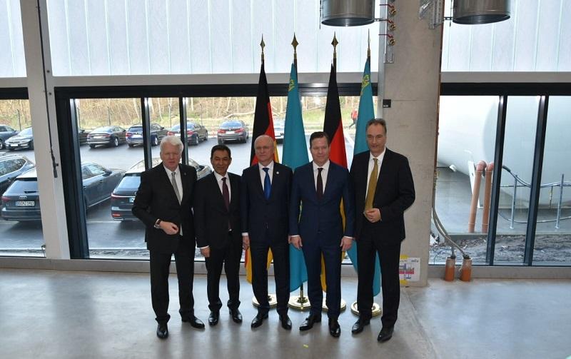 Казахстан и Германия реализовали проекты на 2 млрд евро