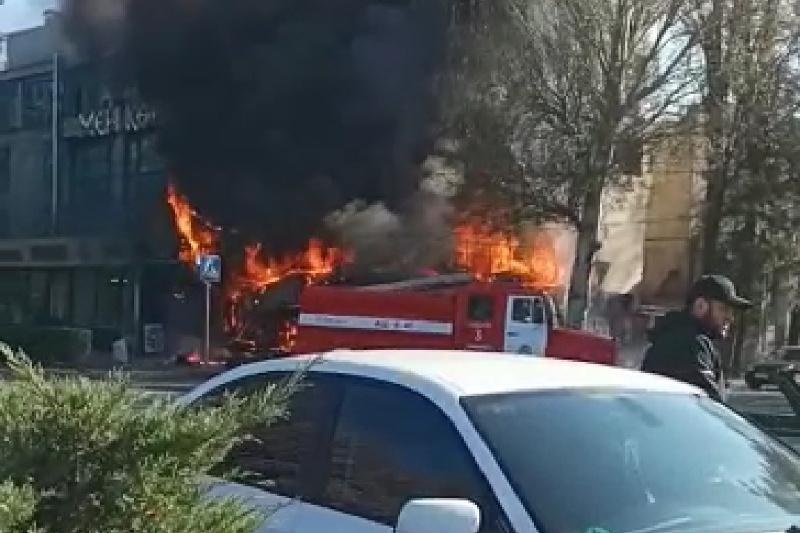 Взрыв в Бишкеке прогремел в кафе
