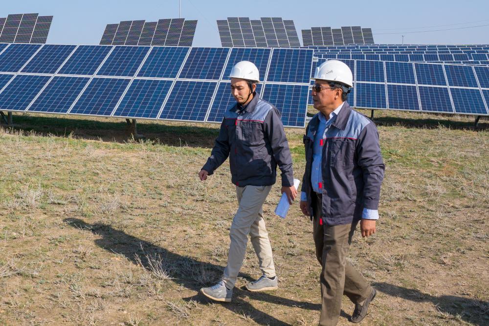 Солнечную электростанцию мощностью 30 МВт ввели в Восточном Казахстане