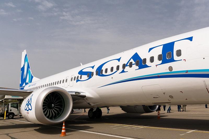Авиакомпания SCAT в январе-сентябре 2019 года увеличила пассажиропоток на 5%