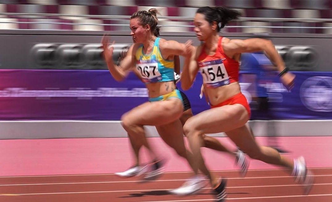 Казахстанка стала чемпионкой Азии по легкой атлетике в беге на 100 м