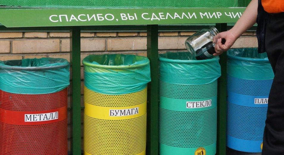 В селе Павлодарской области начали сортировать мусор