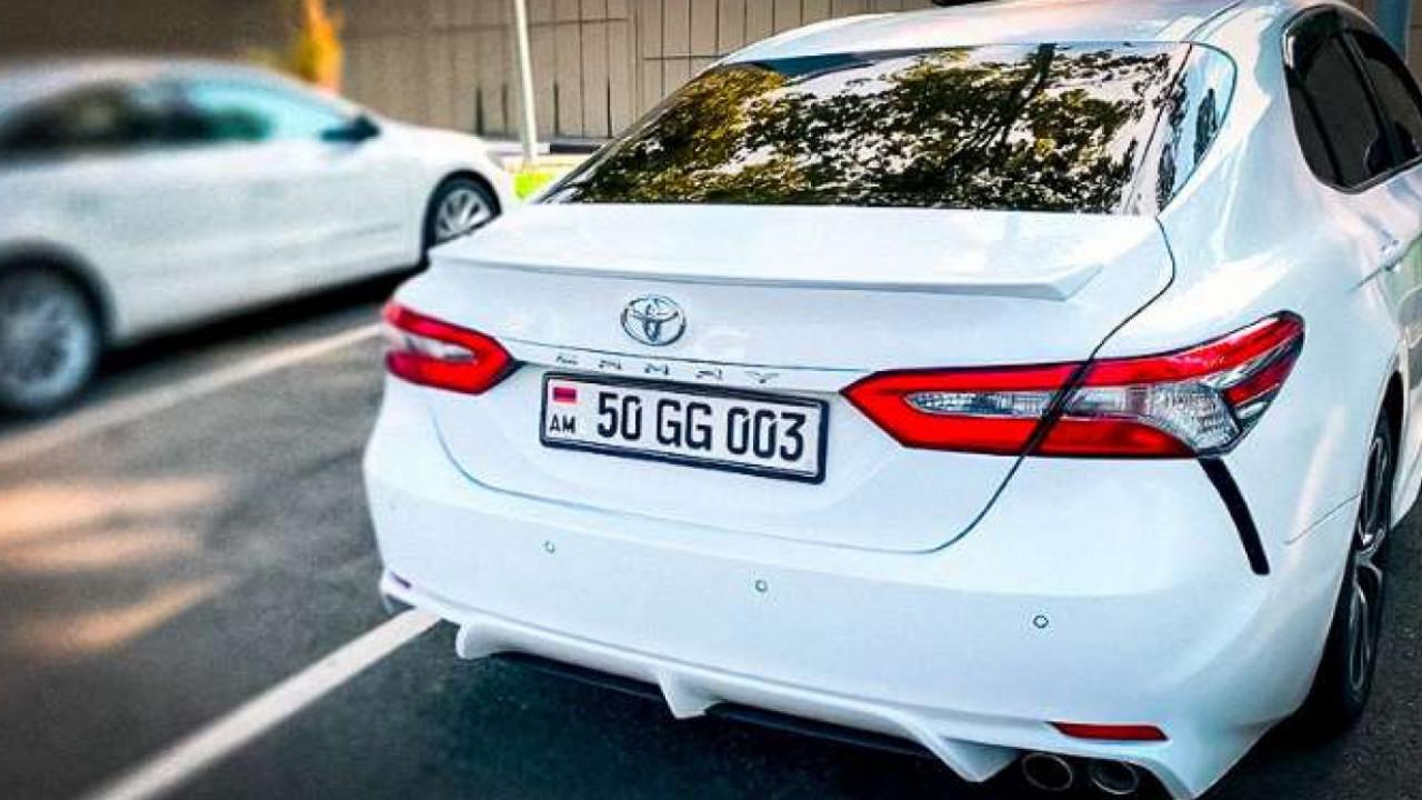 В Казахстане стартовала регистрация армянских авто