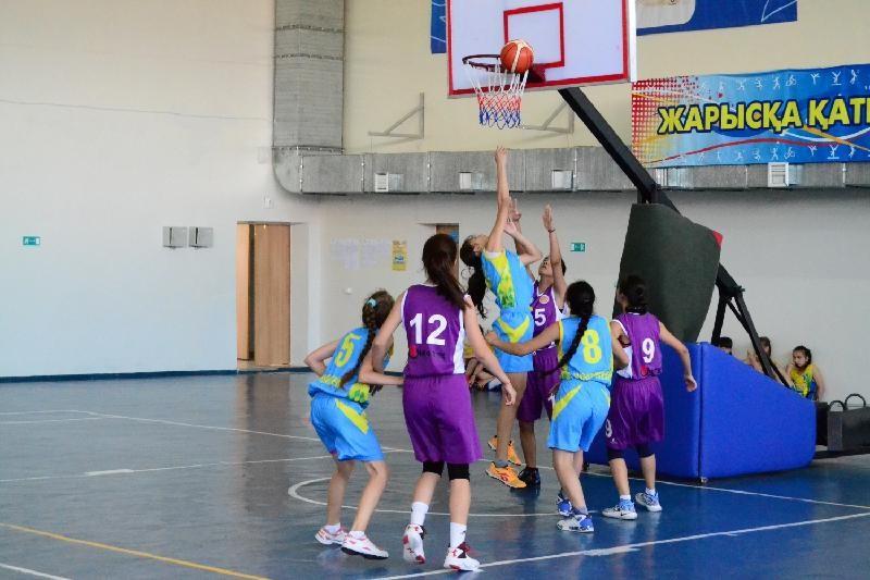 В Щучинске завершилась V летняя Спартакиада по баскетболу среди женщин