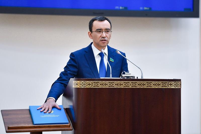 Новый спикер сената пообещал обеспечить законодательное сопровождение политики президента РК