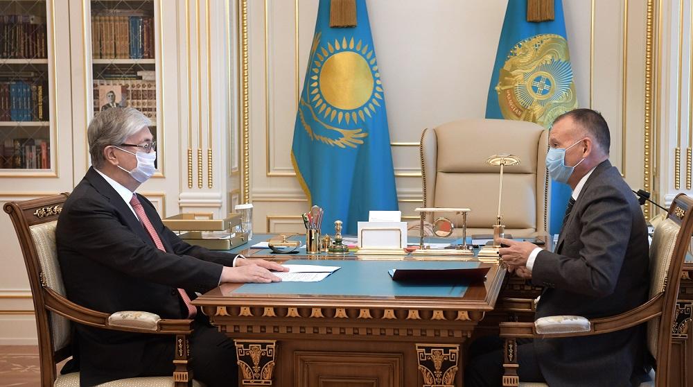 Касым-Жомарт Токаев и глава ЦИК обсудили опыт избирательных органов по проведению выборов