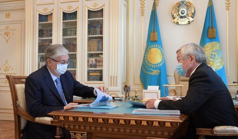 Президенту РК доложили о положении дел в Кордайском районе
