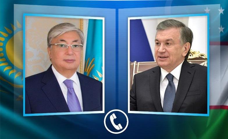 Токаев высоко оценил личный вклад Мирзиёева в развитие казахстанско-узбекского стратегического партнерства