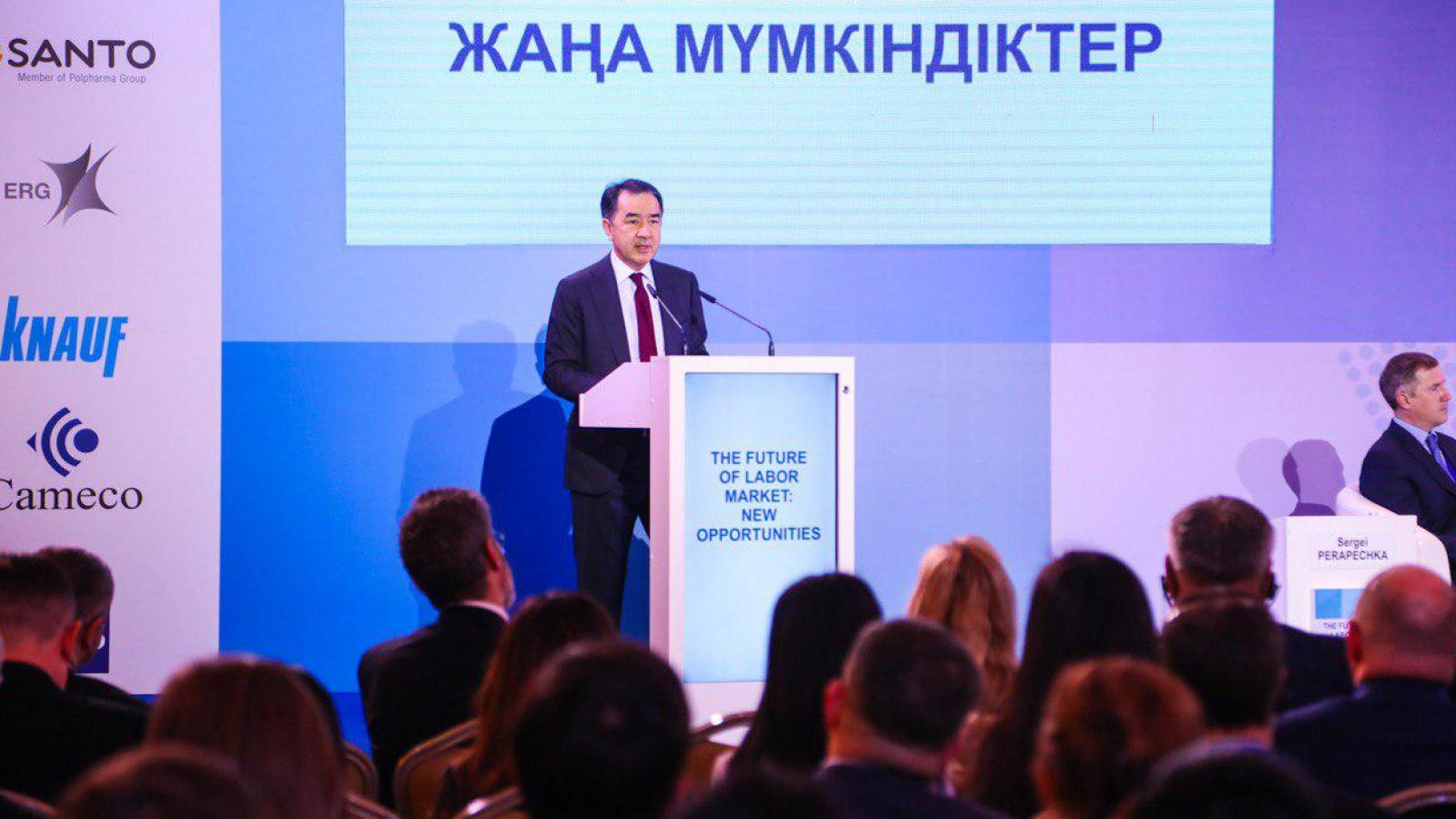 Более миллиона новых рабочих мест будет создано в РК к 2025 году – Сагинтаев