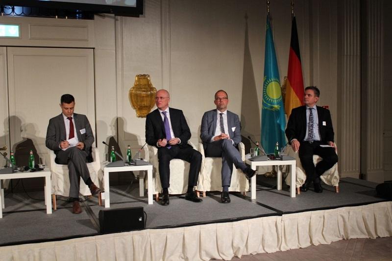 Роман Скляр принял участие в Казахстанско-германском бизнес-форуме