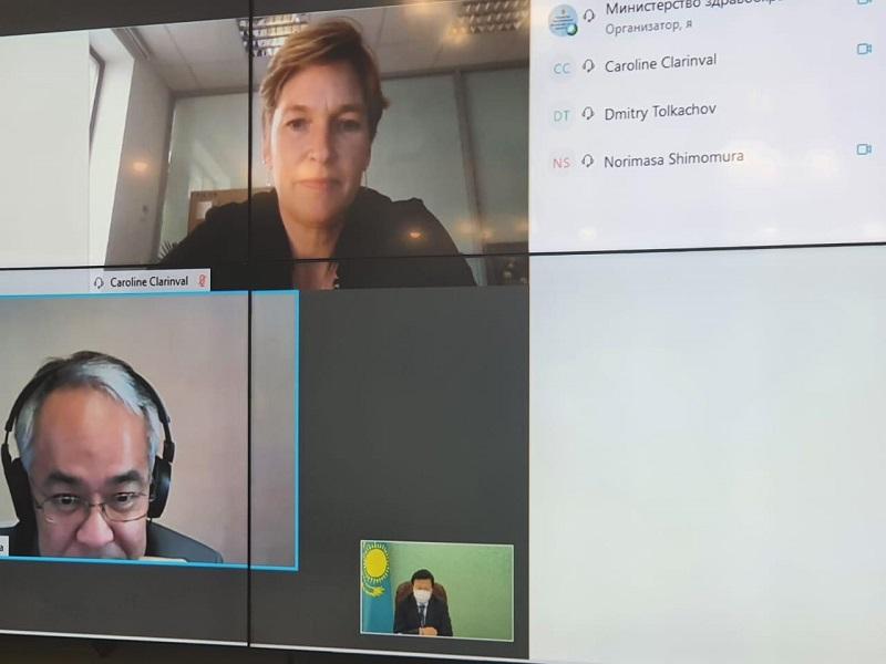 Алексей Цой рассказал представителям ООН и ВОЗ о проводимой работе по нераспространению COVID-19