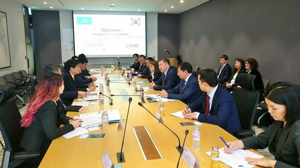 Делегация холдинга «Байтерек» встретилась с руководителями крупнейших корейских компаний