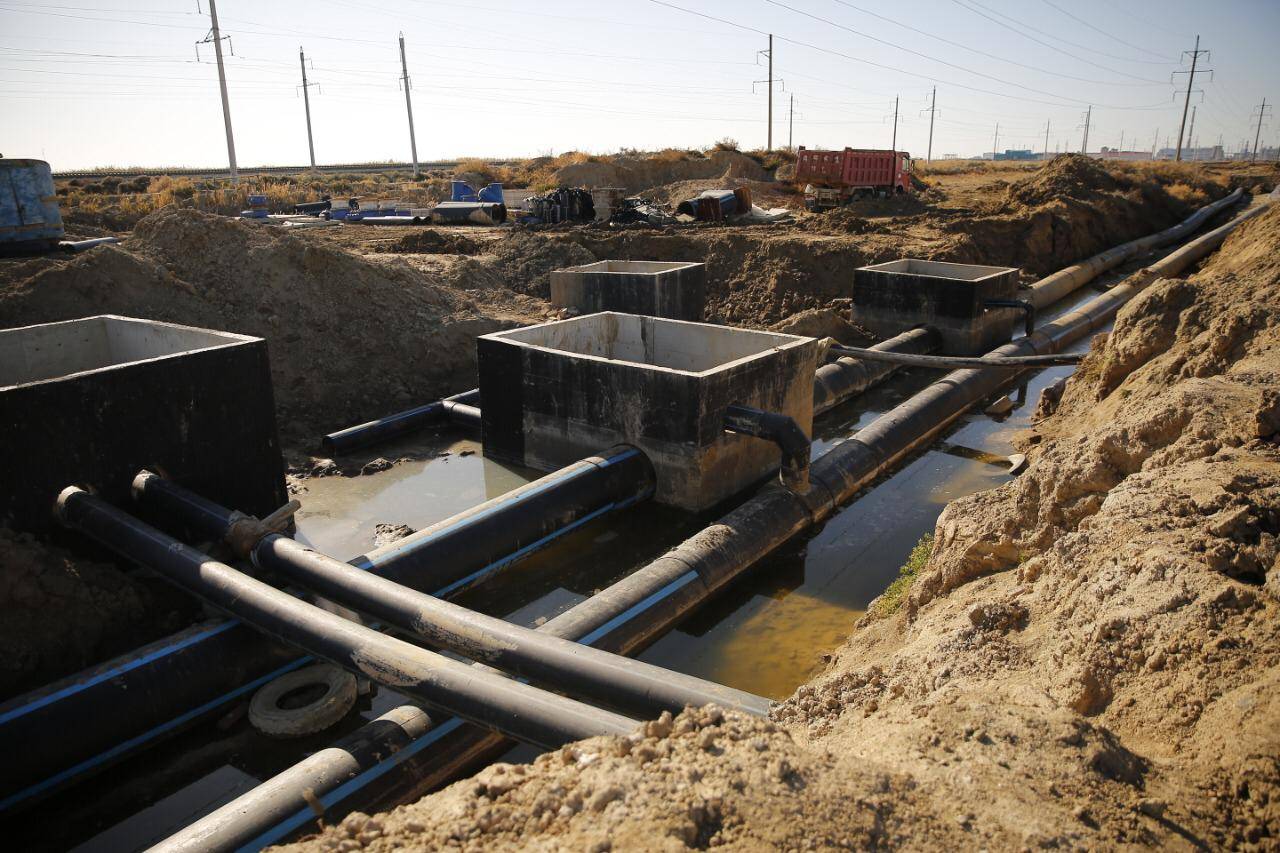 Когда планируют ввести в эксплуатацию комплекс канализационно-очистных сооружений в Атырау