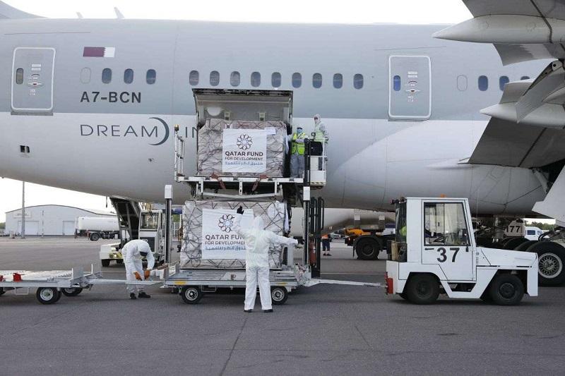 Гуманитарная помощь из Катара добралась до Павлодарской области