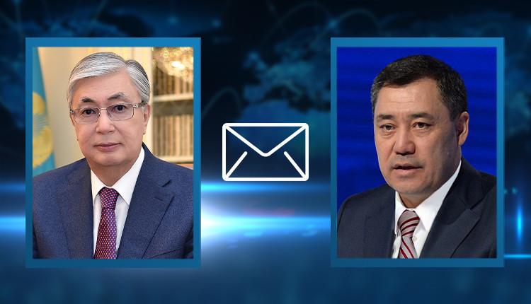 Президент Казахстана поздравил своего киргизского коллегу