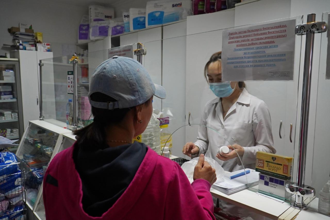 Елорда дәріханаларына вирусқа қарсы дәрі-дәрмектер жеткізілуде