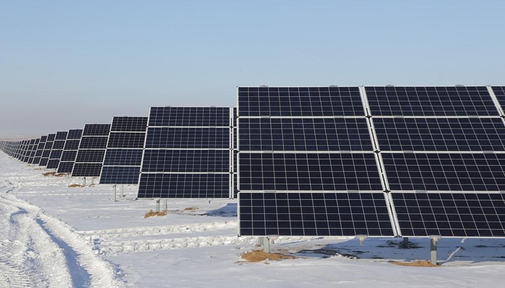 В Сарани Карагандинской области начала работу крупнейшая солнечная электростанция в ЦА