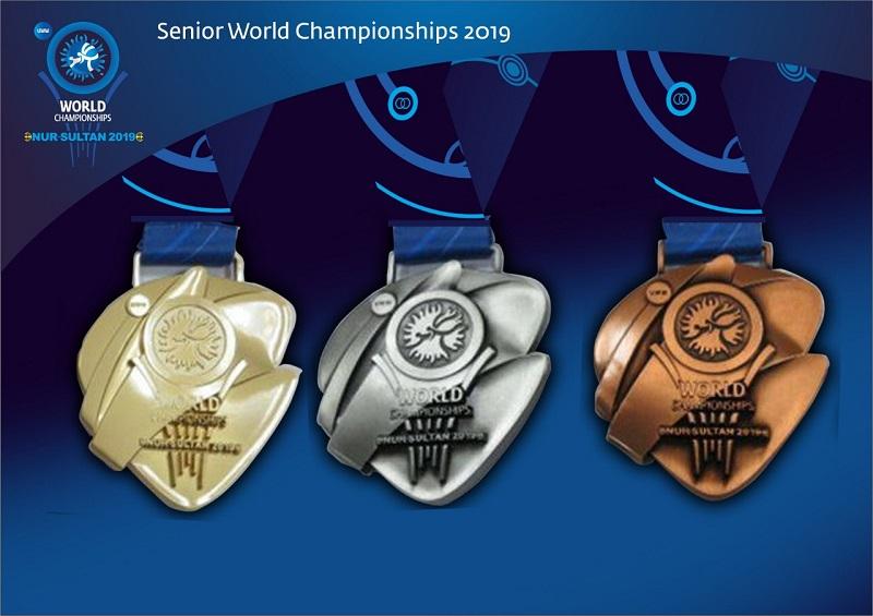 Чемпионат мира по борьбе: в Нур-Султане презентовали медали