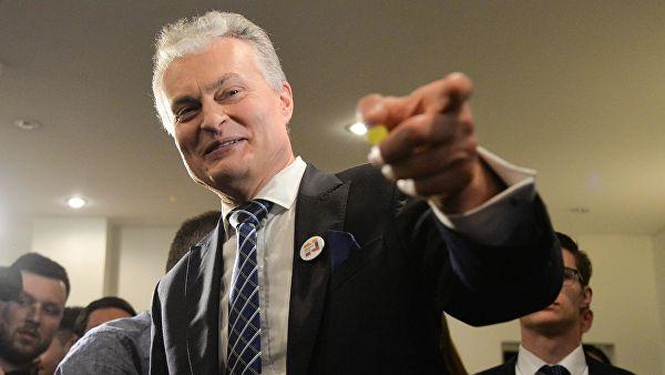 Кто побеждает на выборах президента Литвы