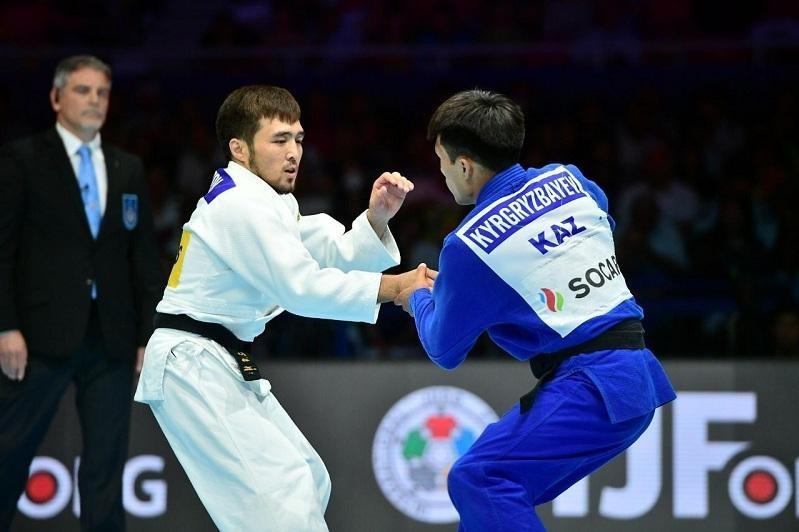 Положение дзюдоистов РК в олимпийском рейтинге IJF