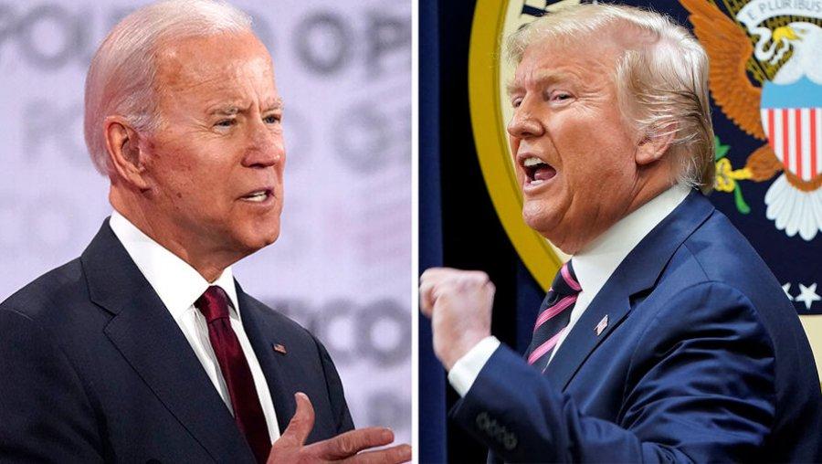 Трамп и Байден начали дебаты со взаимных обвинений
