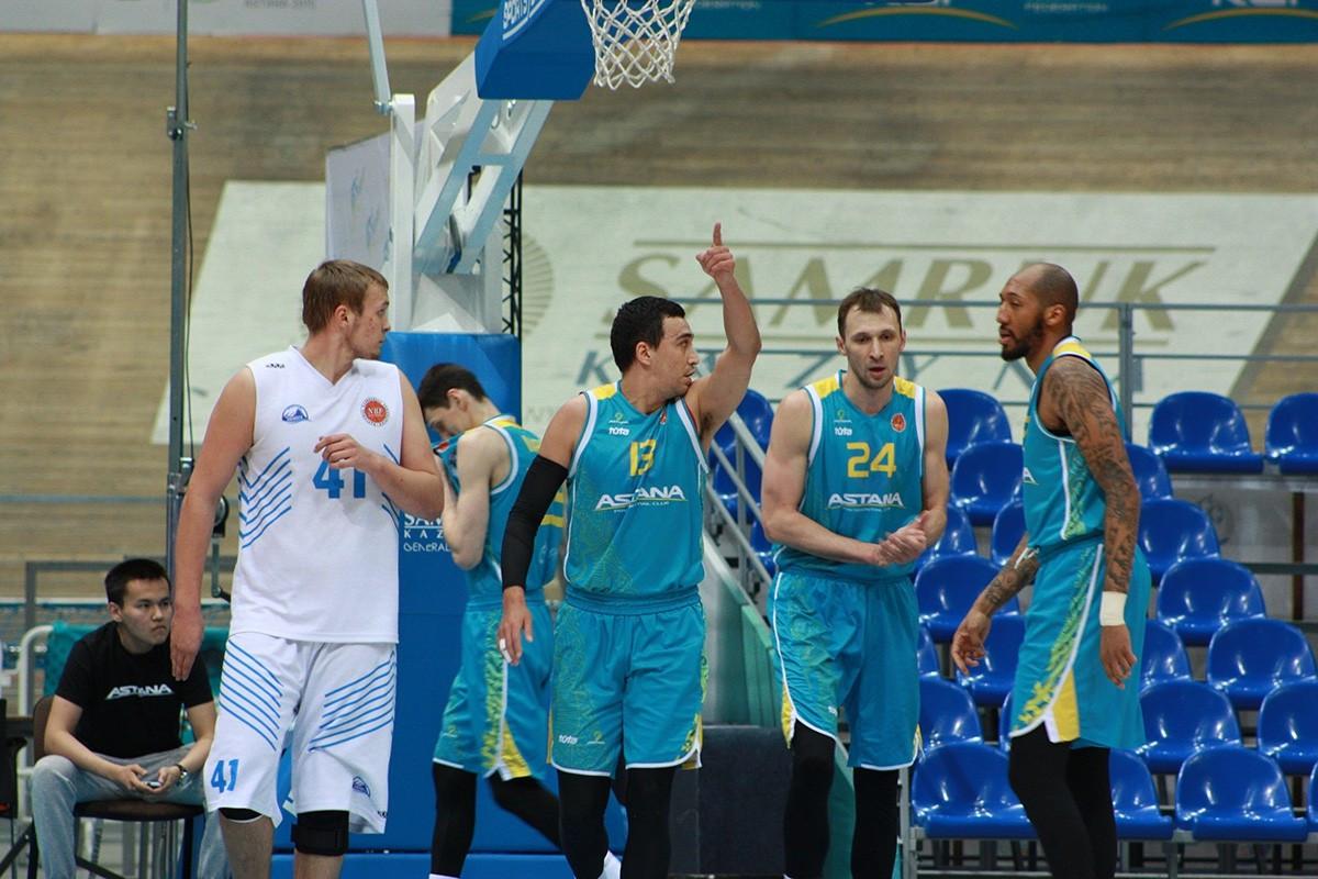 БК «Астана» обеспечил себе место в финале национальной лиги
