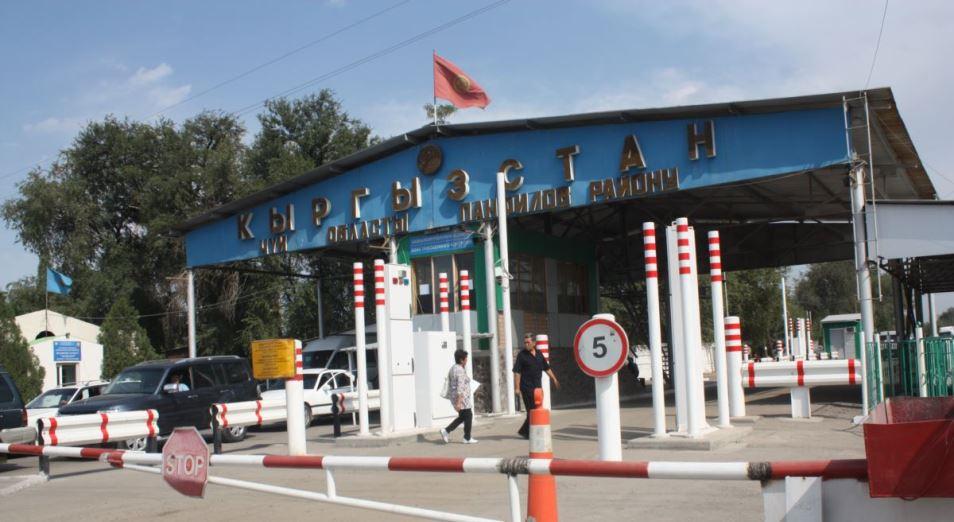 Мажилис одобрил предлагаемые новшества для пунктов пропуска на границе с Кыргызстаном